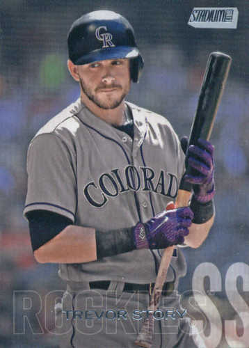 Photo of 2018 Stadium Club #299 Trevor Story