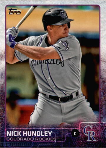 Photo of 2015 Topps #680 Nick Hundley
