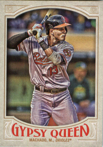 Photo of 2016 Topps Gypsy Queen #128A Manny Machado/Batting