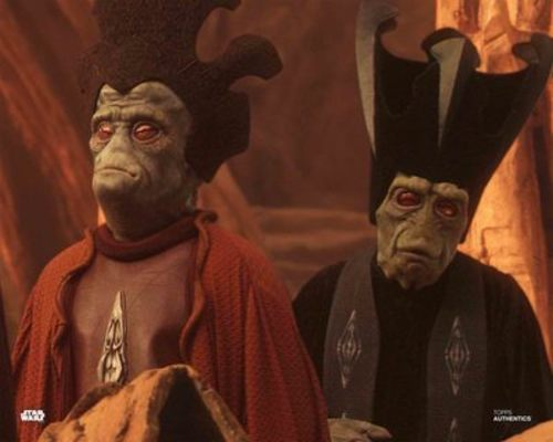 Nute Gunray and Lott Dod