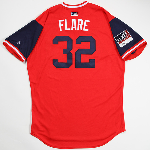 "Photo of Jack ""Flare"" Flaherty St. Louis Cardinals Game-Used 2018 Players' Weekend Jersey"