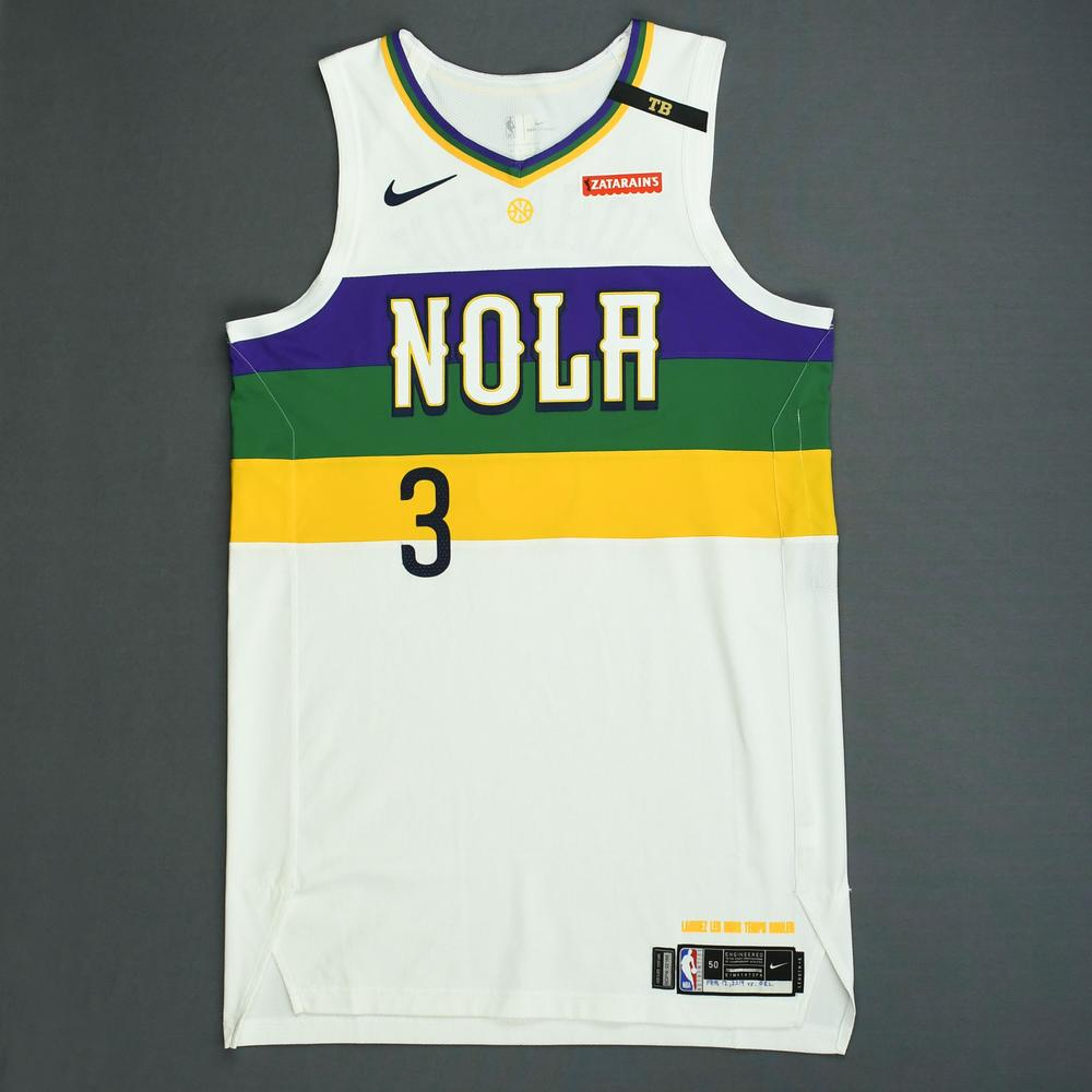 Stanley Johnson - New Orleans Pelicans - Game-Worn City Edition Jersey - 2018-19 Season