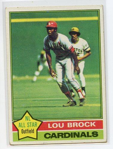 Photo of 1976 Topps #10 Lou Brock