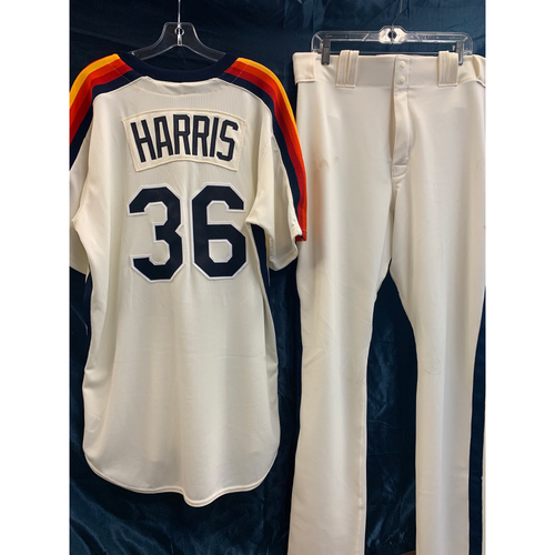 Photo of 2019 Turn-Back-The-Clock Will Harris  Game-Used Uniform Package