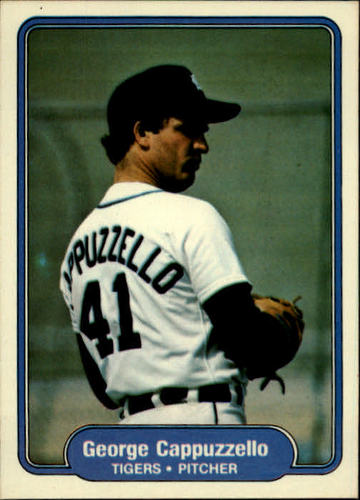 Photo of 1982 Fleer #264 George Cappuzzello