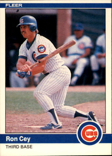 Photo of 1984 Fleer #490 Ron Cey