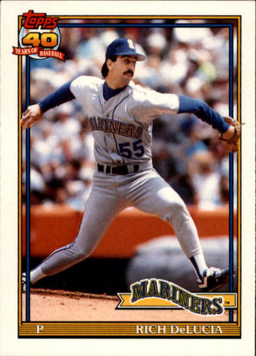 Photo of 1991 Topps Traded #31T Rich DeLucia RC