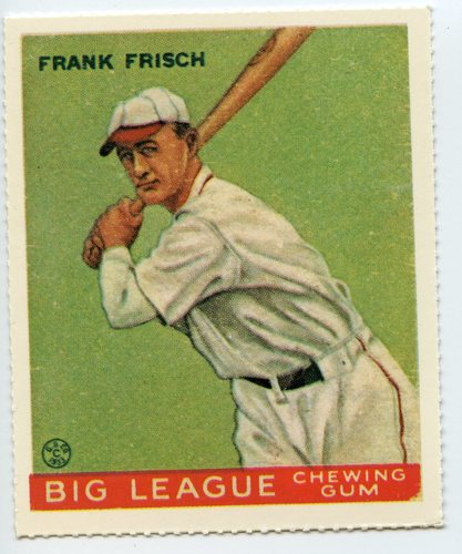 Photo of 1933 Goudey '86 Reprints #49 Frankie Frisch