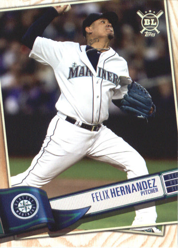 Photo of 2019 Topps Big League #105 Felix Hernandez