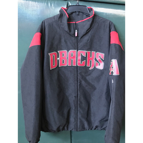 Photo of Jon Duplantier Team-Issued On-Field Black D-backs Jacket