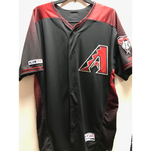 Photo of Merrill Kelly 2019 Team-Issued Black Alternate Jersey