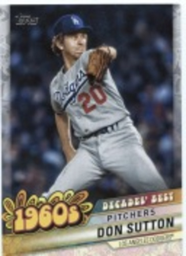 Photo of 2020 Topps Decades' Best Series 2 #DB20 Don Sutton
