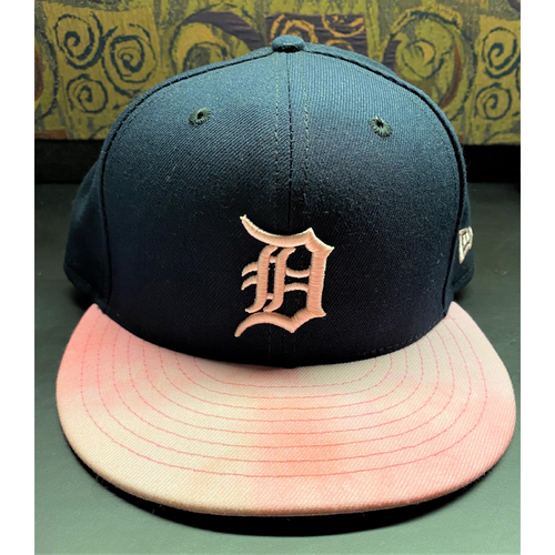 Photo of Miguel Cabrera 2019 Mothers Day Detroit Tigers Game-Used Cap (MLB AUTHENTICATED)