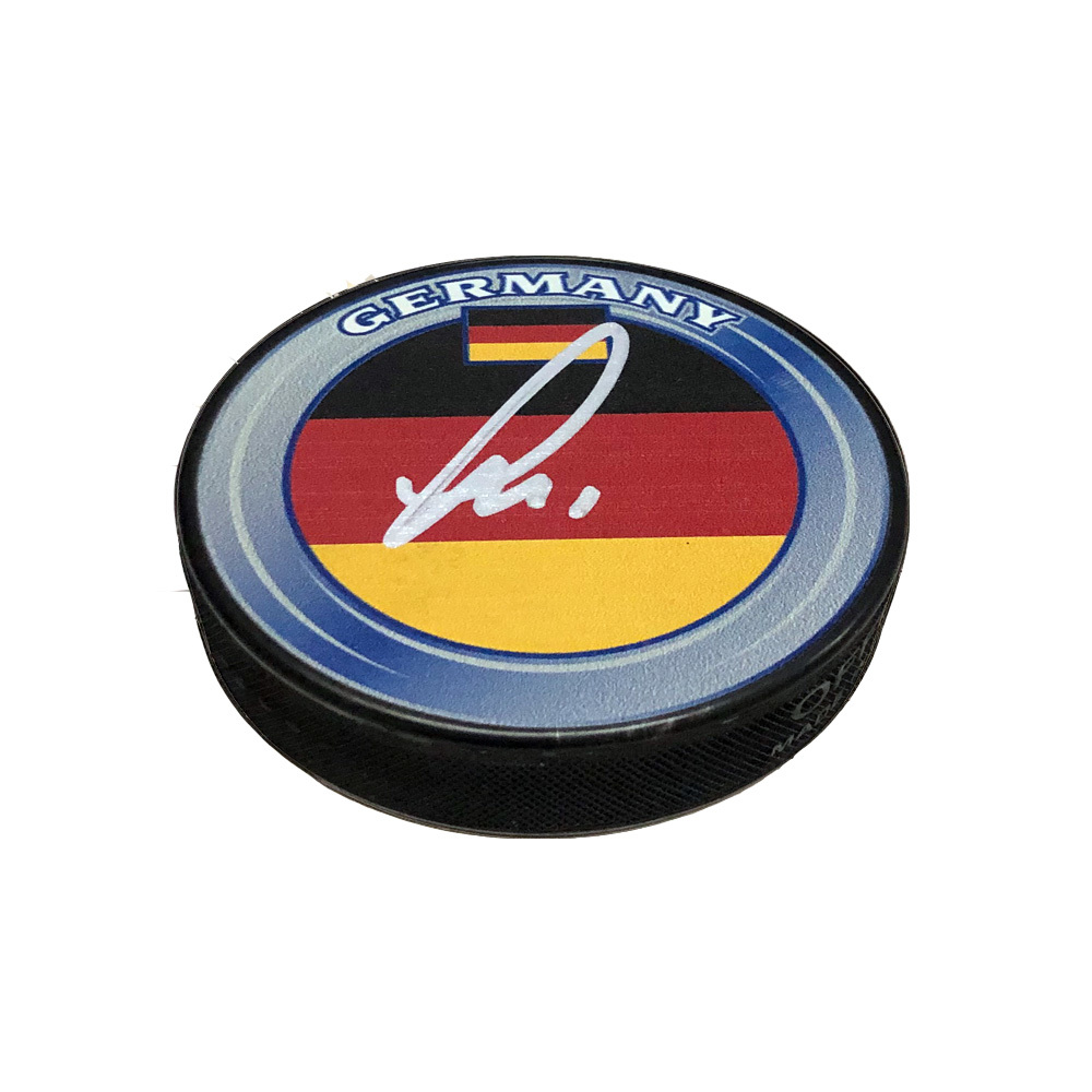 THOMAS GREISS Signed Team Germany Puck