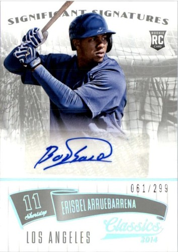 Photo of 2014 Classics Significant Signatures Silver #85 Erisbel Arruebarrena/299