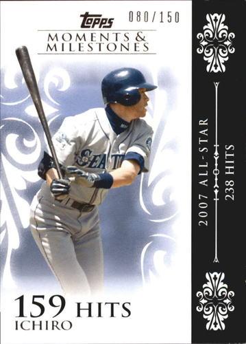 Photo of 2008 Topps Moments and Milestones #63-159 Ichiro Suzuki