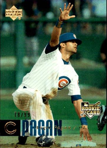 Photo of 2006 Upper Deck Rookie Foil Gold #911 Angel Pagan RC /99