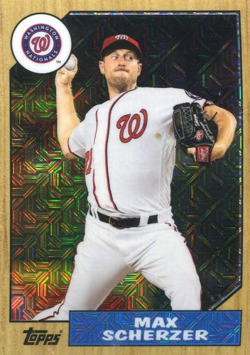 Photo of 2017 Topps '87 Topps Silver Pack Chrome #87MS Max Scherzer