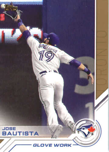 Photo of 2017 Topps Update Salute #USS46 Jose Bautista