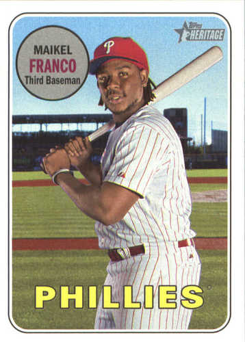 Photo of 2018 Topps Heritage #132 Maikel Franco