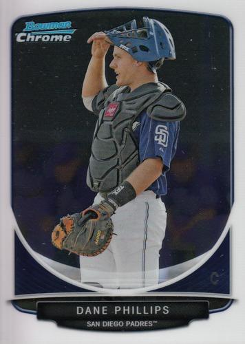Photo of 2013 Bowman Chrome Prospects #BCP18 Dane Phillips