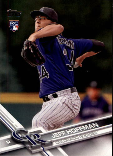 Photo of 2017 Topps #335A Jeff Hoffman Rookie Card