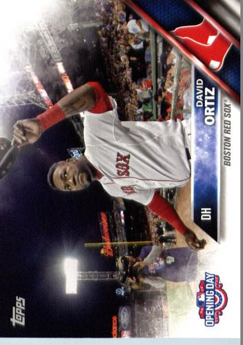 Photo of 2016 Topps Opening Day #OD138 David Ortiz