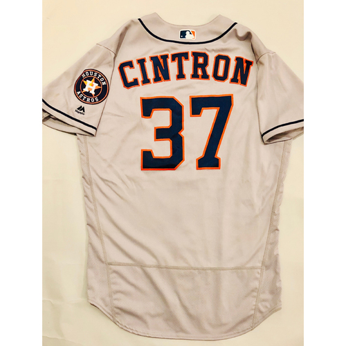 Photo of 2019 Mexico Series - Game-Used Jersey - Alex Cintron, Houston Astros at Los Angeles Angels - 5/4/19
