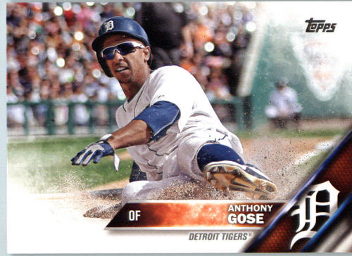 Photo of 2016 Topps #590 Anthony Gose