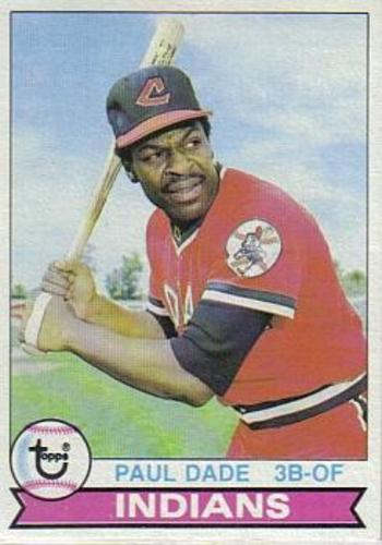 Photo of 1979 Topps #13 Paul Dade