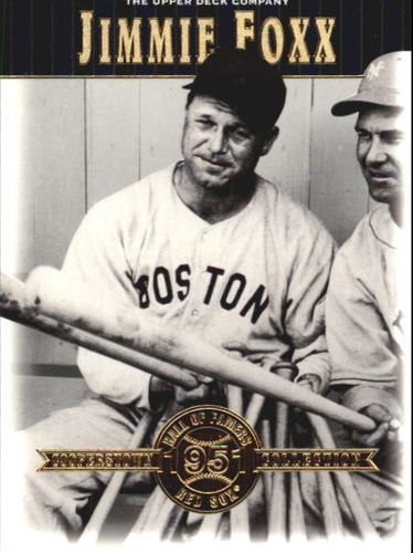 Photo of 2001 Upper Deck Hall of Famers #35 Jimmie Foxx