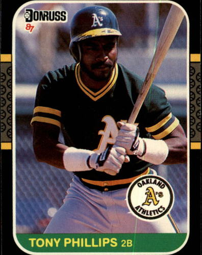 Photo of 1987 Donruss #103 Tony Phillips