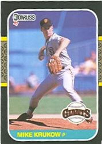 Photo of 1987 Donruss #609 Mike Krukow