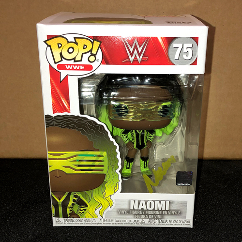Naomi SIGNED POP! Vinyl Figure
