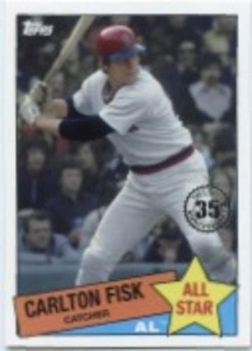 Photo of 2020 Topps '85 Topps All Stars #85AS27 Carlton Fisk