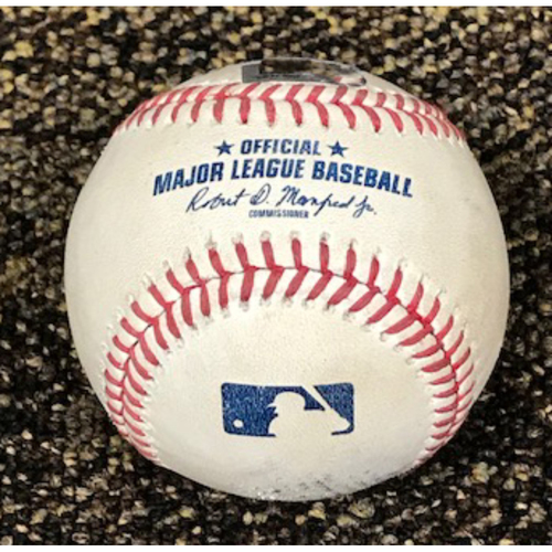 Photo of 9/10/2020 Game-Used HOME RUN Baseball, Dodgers at Diamondbacks: Carson Kelly Homers Off of Tony Gonsolin, Scored Daulton Varsho. D-backs Won 5-2.