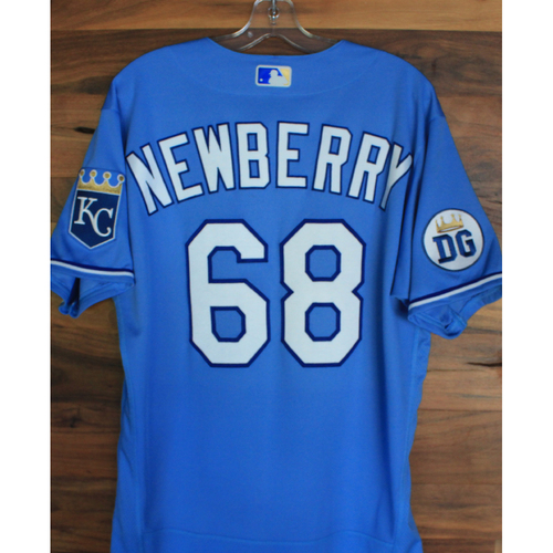 Photo of Alex's Lemonade Stand Foundation: Game-Used Jake Newberry Jersey (Size 44 - 9/26/20 DET @ KC)