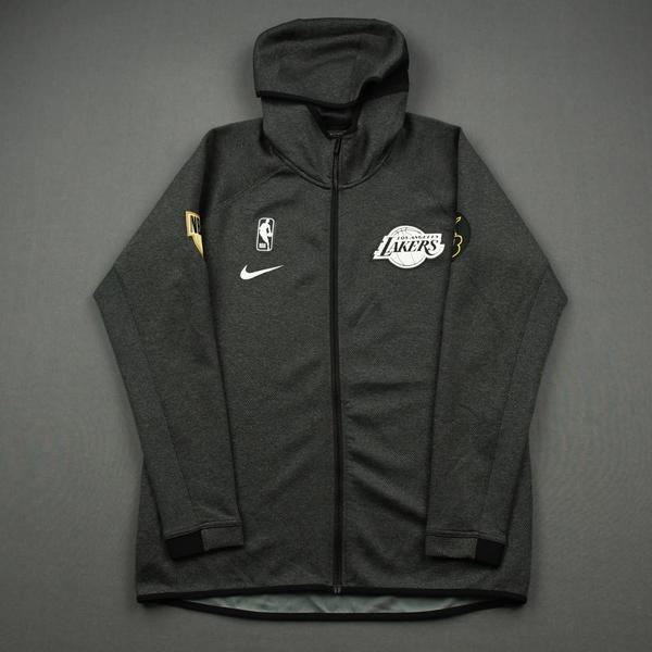 Image of Dion Waiters - Los Angeles Lakers - 2020 NBA Finals - Game-Issued Hooded Warmup Jacket