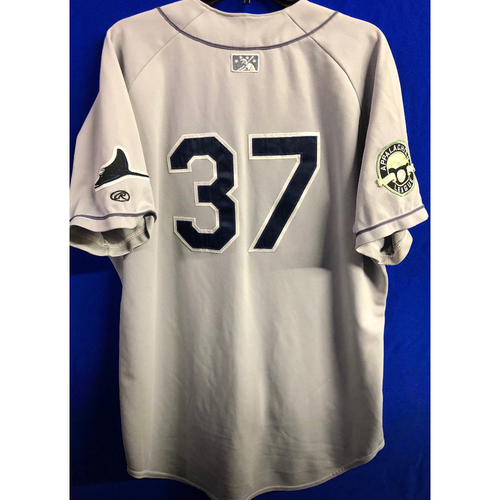 Photo of Team Issued Appalachian League Gray Jersey - #37