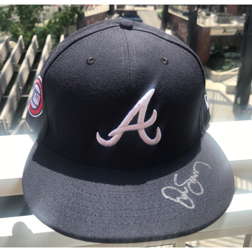 Photo of Drew Smyly Autographed MLB New Era Memorial Day Cap