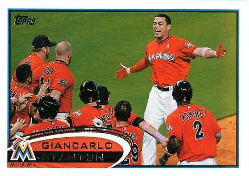Photo of 2012 Topps Update #US154 Giancarlo Stanton