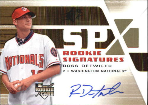 Photo of 2008 SPx #145 Ross Detwiler AU RC