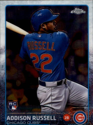 Photo of 2015 Topps Chrome #24 Addison Russell Rookie Card