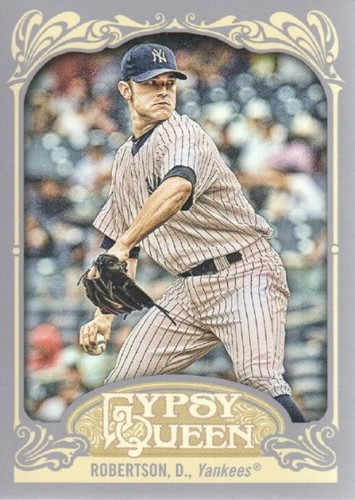 Photo of 2012 Topps Gypsy Queen #125 David  -- Yankees post-season