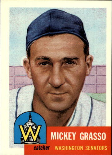 Photo of 1991 Topps Archives 1953 #148 Mickey Grasso