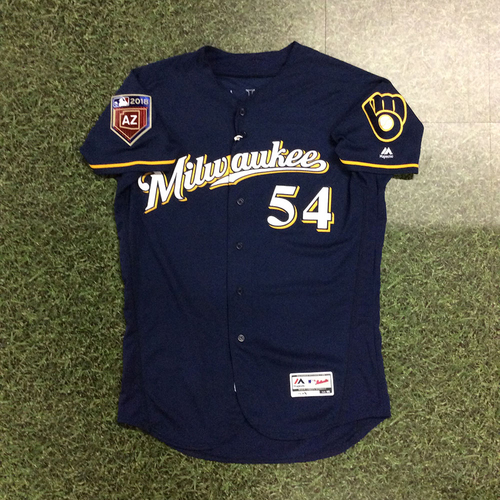 Photo of Taylor Williams 2018 Game-Used Spring Training Jersey