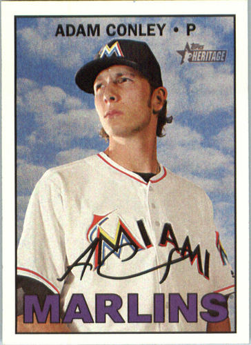 Photo of 2016 Topps Heritage #533 Adam Conley