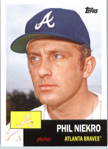 Photo of 2016 Topps Archives #54 Phil Niekro