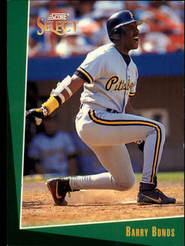 Photo of 1993 Select #1 Barry Bonds