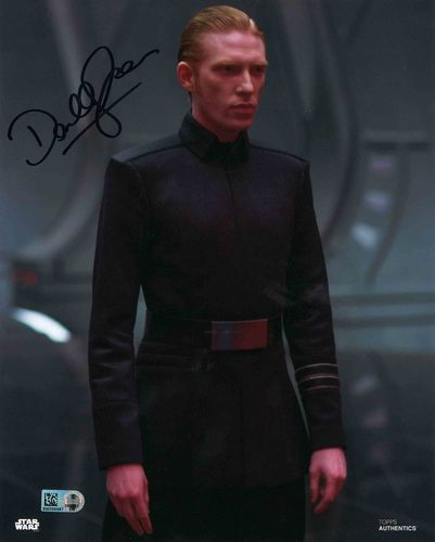 Domhnall Gleeson As General Hux 8X10 AUTOGRAPHED IN 'BLACK' INK PHOTO